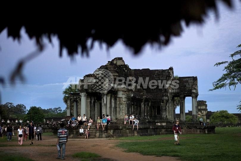 カンボジアの失われた都市、新技術で発見 豪紙報道