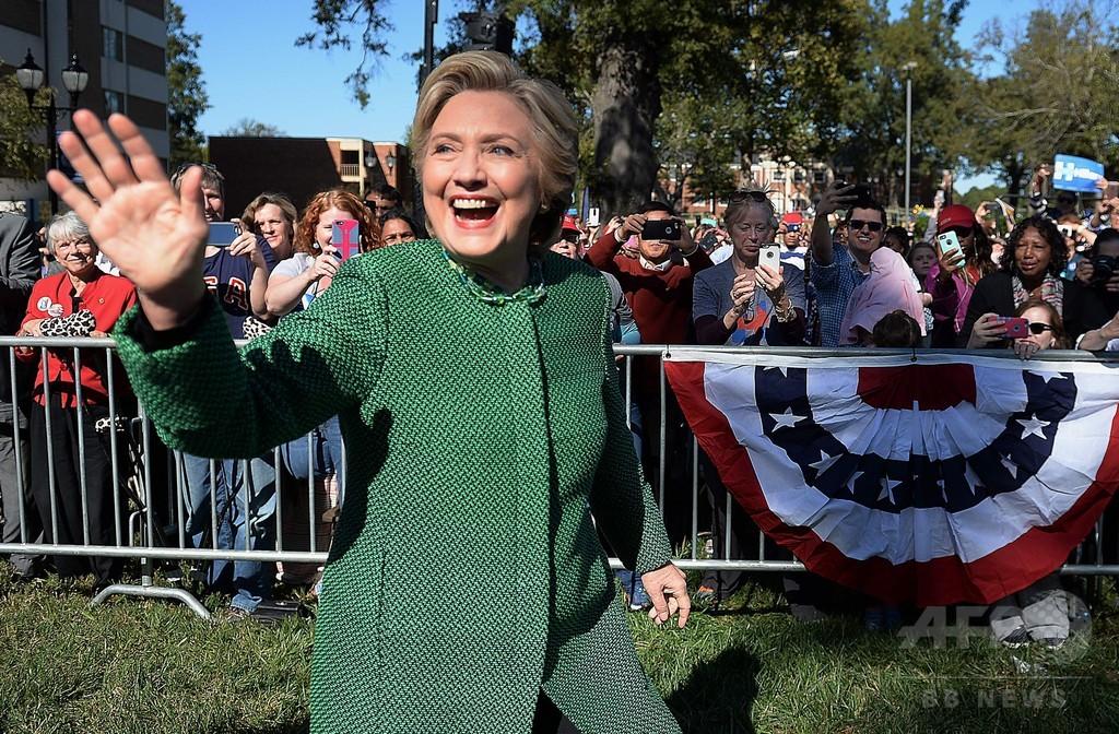 クリントン氏に近い団体、FBI幹部の妻に5200万円献金