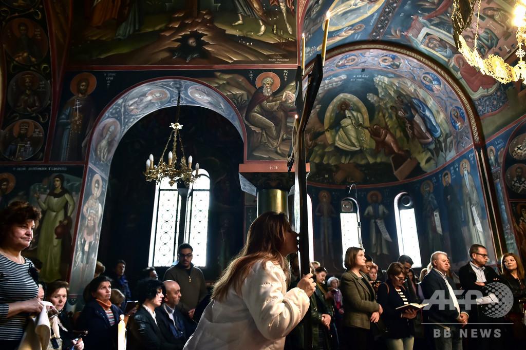 新型コロナ予防めぐり、ギリシャ正教会と医師団体が衝突