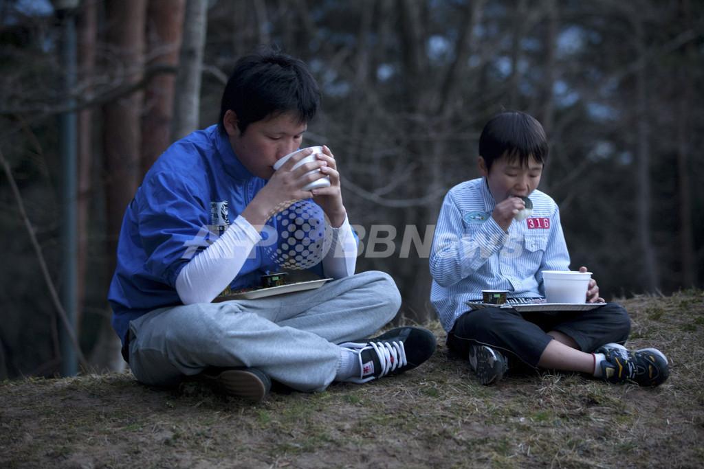 被災地の子どもたち、宮城県七ヶ浜