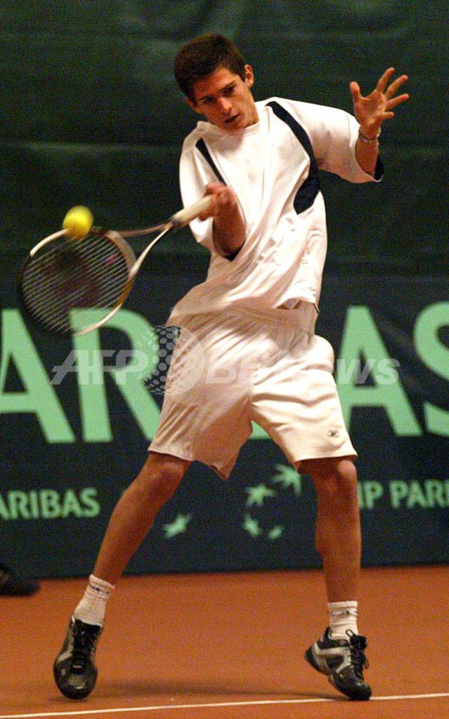 <男子テニス 07デビスカップ>Sousa ストレートでChantouriaを降す - グルジア