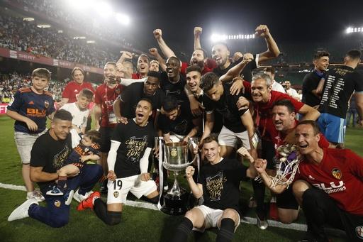 バレンシアが国王杯優勝、バルサは史上初の5連覇逃す