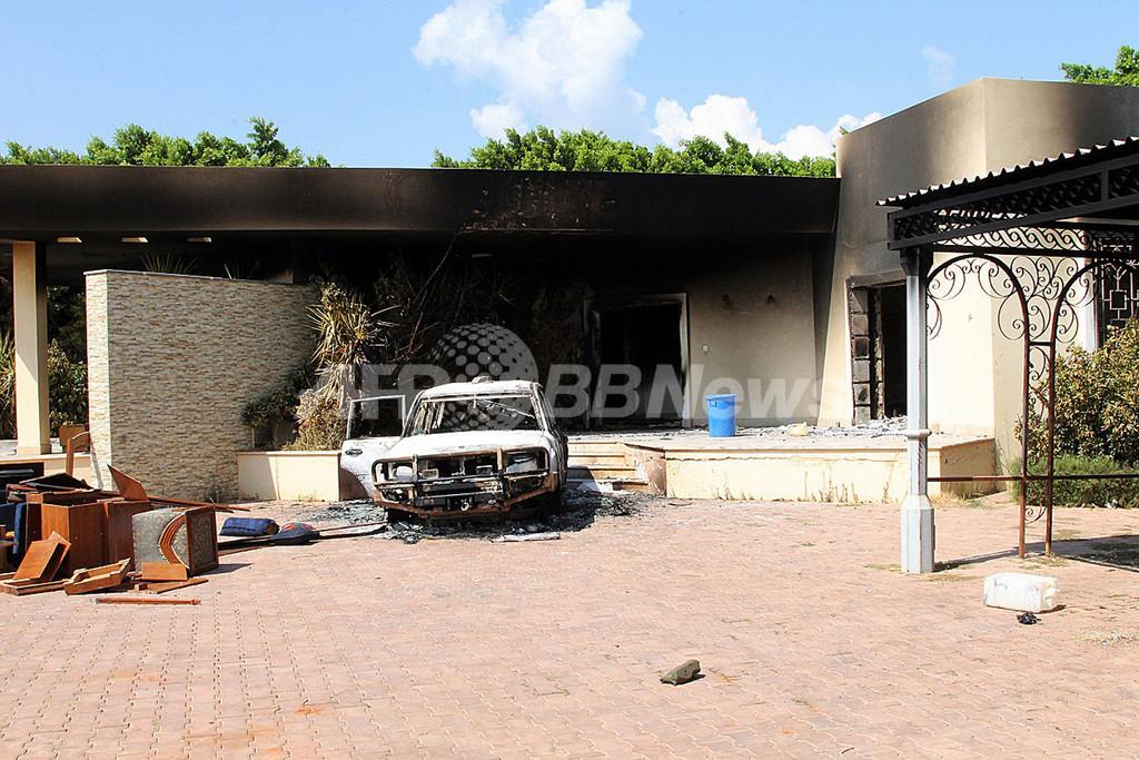 リビアの米領事館襲撃に「アルカイダの特徴」、米下院情報特別委員長