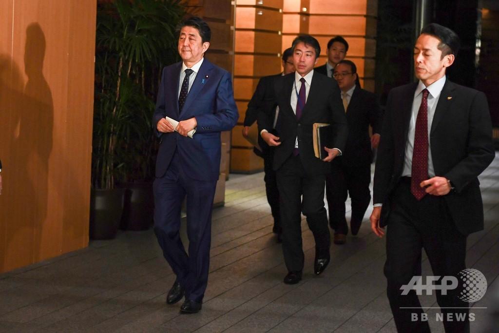 東京五輪の1年延期を要請、安倍首相