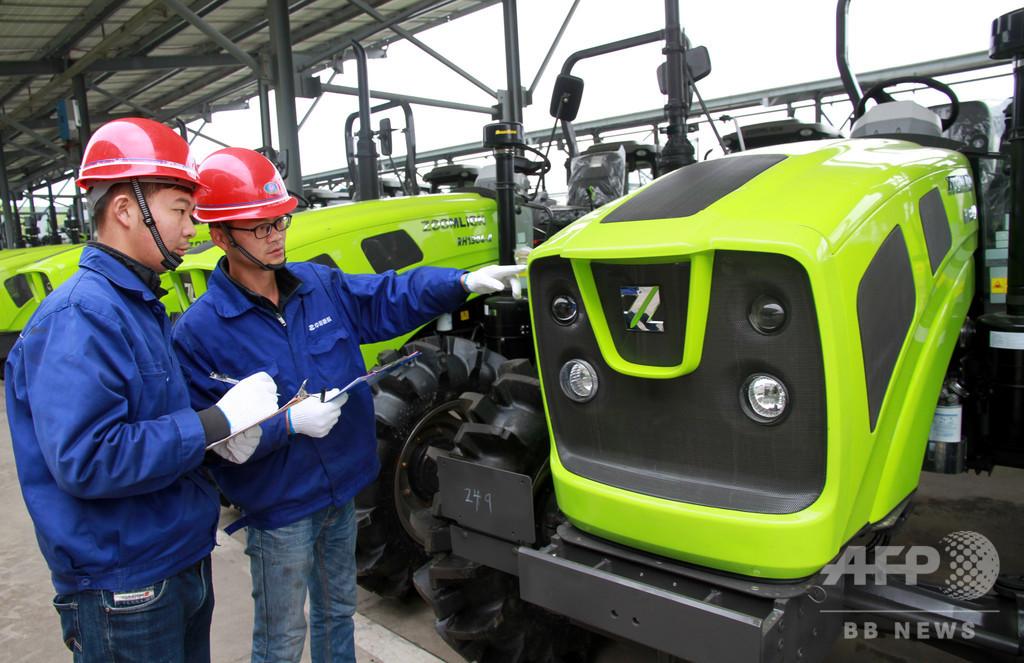 中国産農業機械を海外へ 安徽・蕪湖