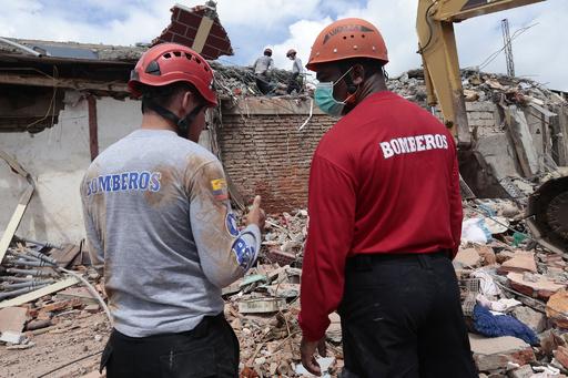 南米エクアドルでM6.7の地震、米地質調査所