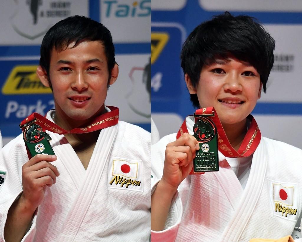 高藤と渡名喜が金メダル、世界柔...