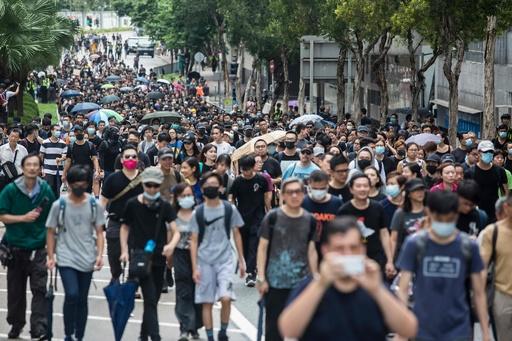 香港で18日に大規模デモ計画、抗議継続への意志示す