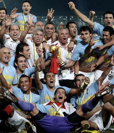 エジプトが3連覇、アフリカ・ネイションズカップ