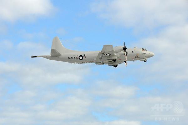 中国軍機と米軍機が南シナ海でニアミス、300メートル内に接近