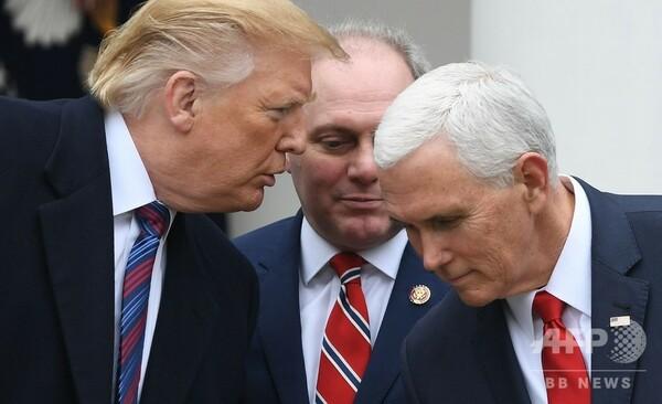米政府閉鎖の終結に向けた協議、ほとんど進展せず トランプ大統領