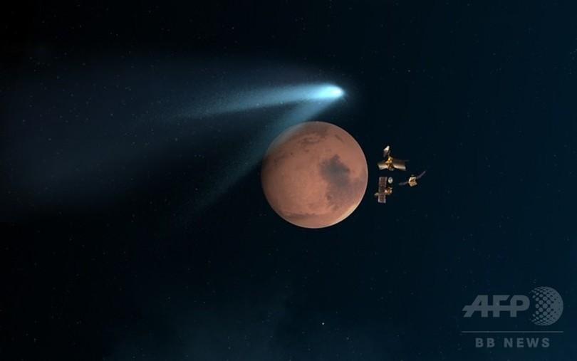 サイディング・スプリング彗星、火星近傍を通過 ESAが確認