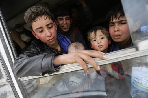 シリア・東グータの反体制派が停戦発表、ロシアと交渉へ