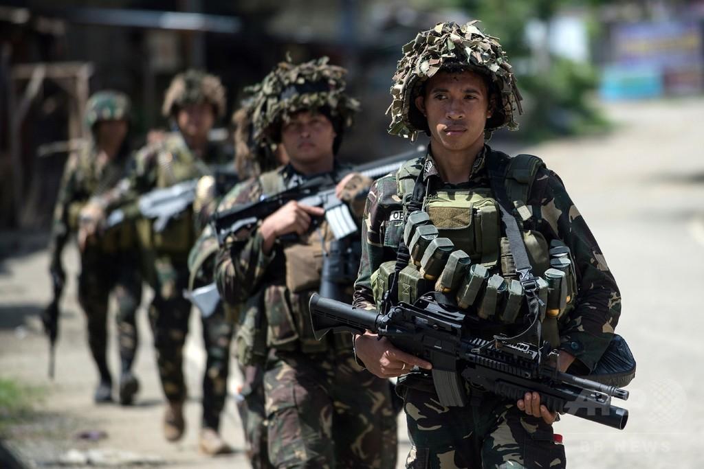 IS系武装勢力が市民を奴隷に、逃げれば射殺 フィリピン