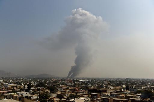 アフガン首都の爆発で16人死亡 タリバンが犯行主張