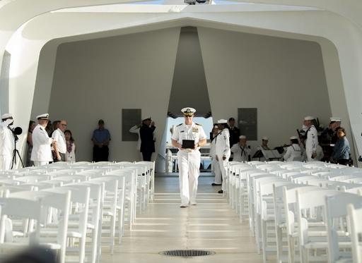真珠湾攻撃から78年、98歳で死去の生存者は戦艦アリゾナの元へ