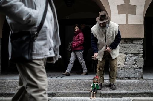 遊び心を忘れない「パセリじいさん」のおもちゃ イタリア