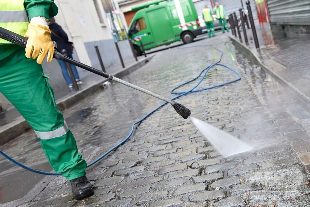 パリの雑用水道から微量の新型ウイルス検出、飲料水には影響なし 市当局