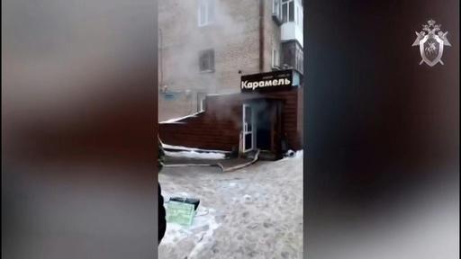 動画:ホテルの温水管が破損、あふれ出た熱湯で5人死亡 ロシア