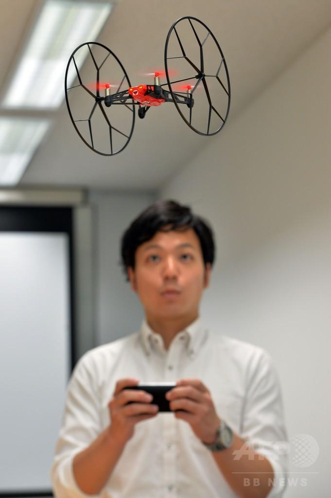 仏パロットの無人機「ローリング・スパイダー」、今月発売へ