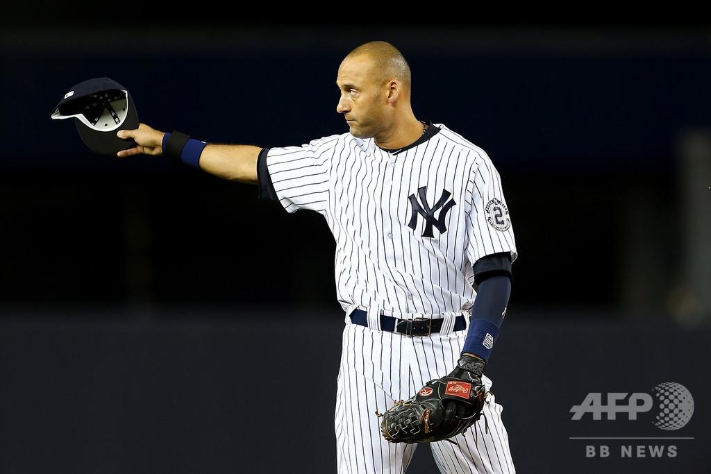 ジーター氏が米野球殿堂候補入り、ヤンキースの象徴