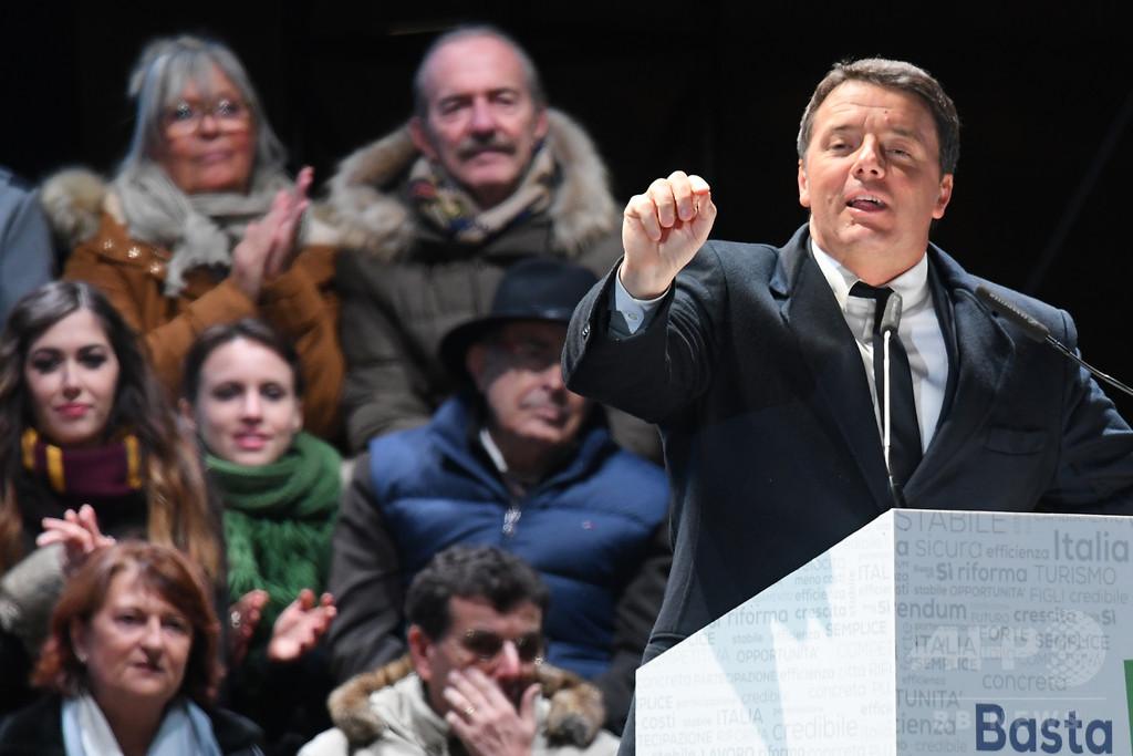 イタリア、4日に改憲問う国民投票 全土にメディア規制