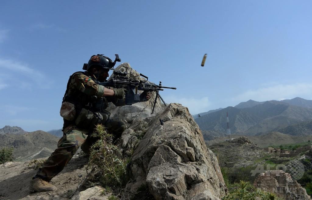 アフガン特殊部隊員が発砲、米兵3人死亡、タリバン潜入員の犯行か