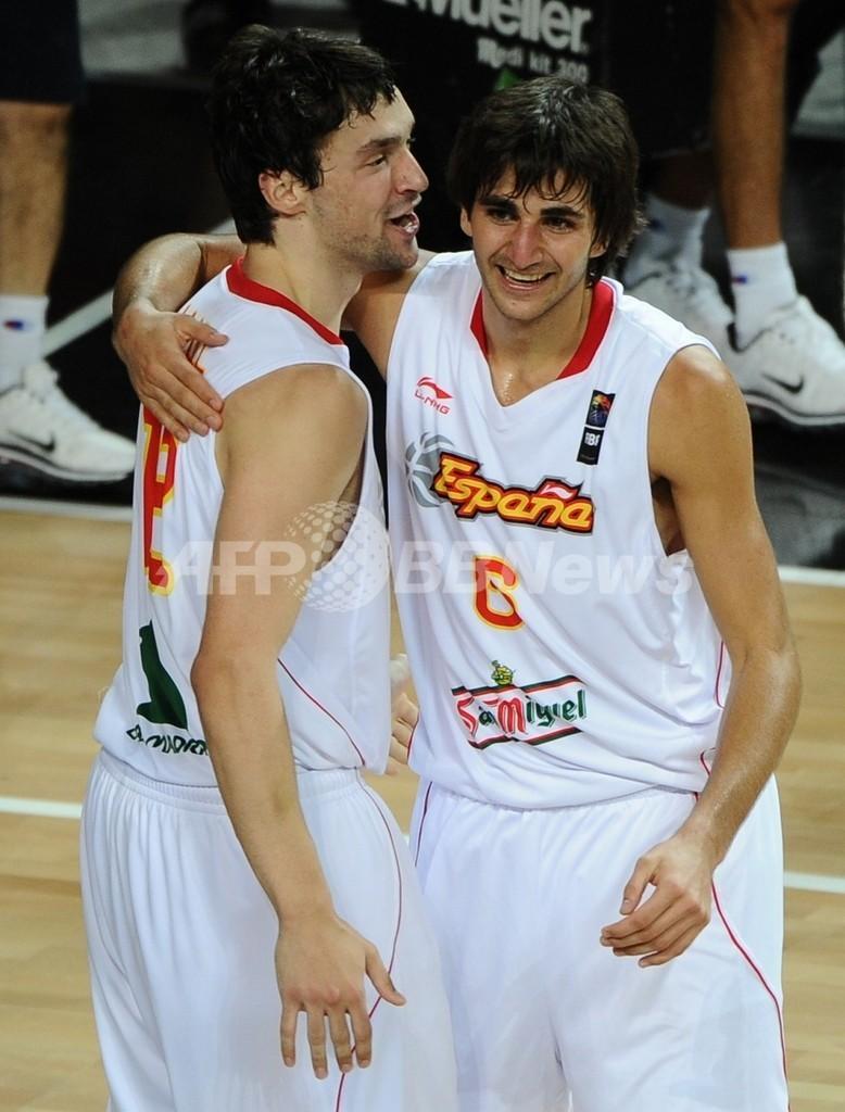 スペインとセルビアが8強入り、世界バスケ