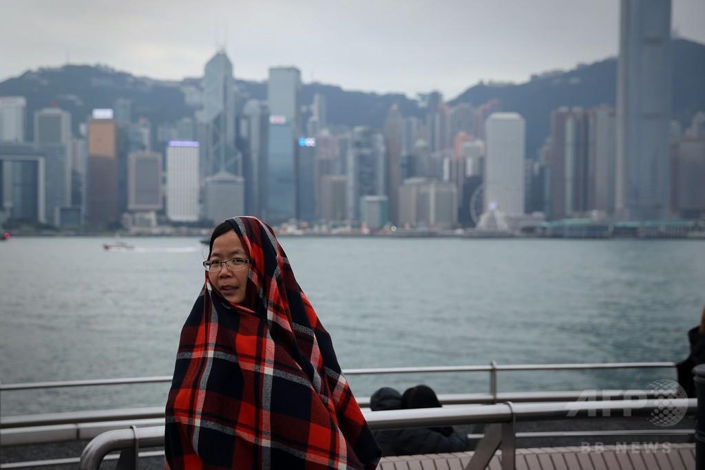 香港、過去60年で最低の気温を記録
