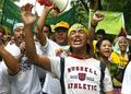 北京五輪の開幕に合わせアジア各地で中国に抗議