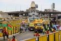 ファラオの巨大像、新博物館へ移動 エジプト