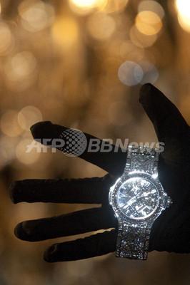 500万ドルの超高級腕時計を公開、スイス時計メーカーのウブロ