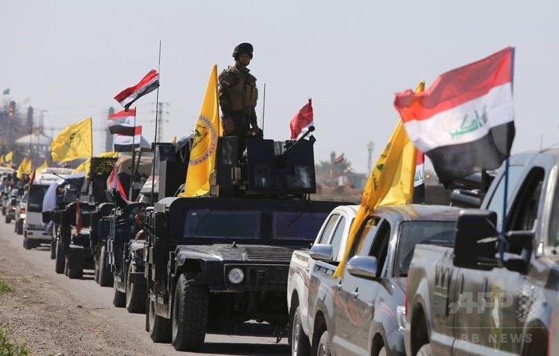 イラク軍が大規模作戦、ISから都市奪還へ