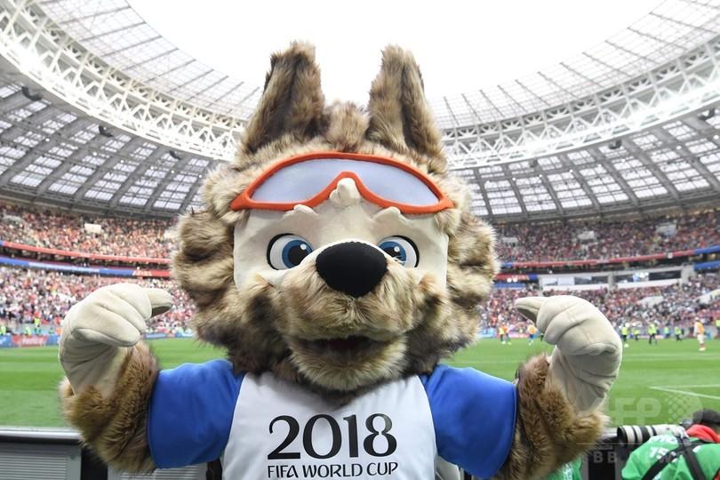 ロシアW杯の公式マスコット「ザビワカ」