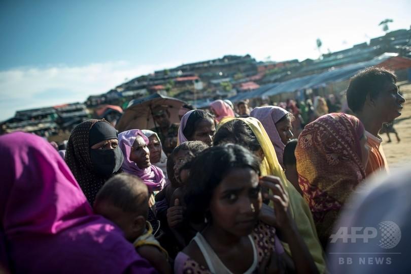 ミャンマー軍に新たなロヒンギャ追放の動きか、「追い出され家焼かれた」