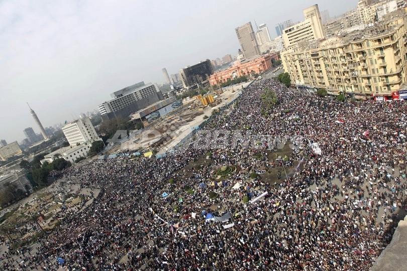 エジプト、「百万人の行進」始まる