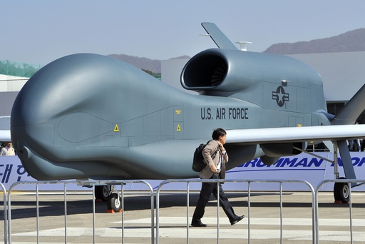 米国防総省、イランによる無人機撃墜を確認も国際空域を飛行と主張