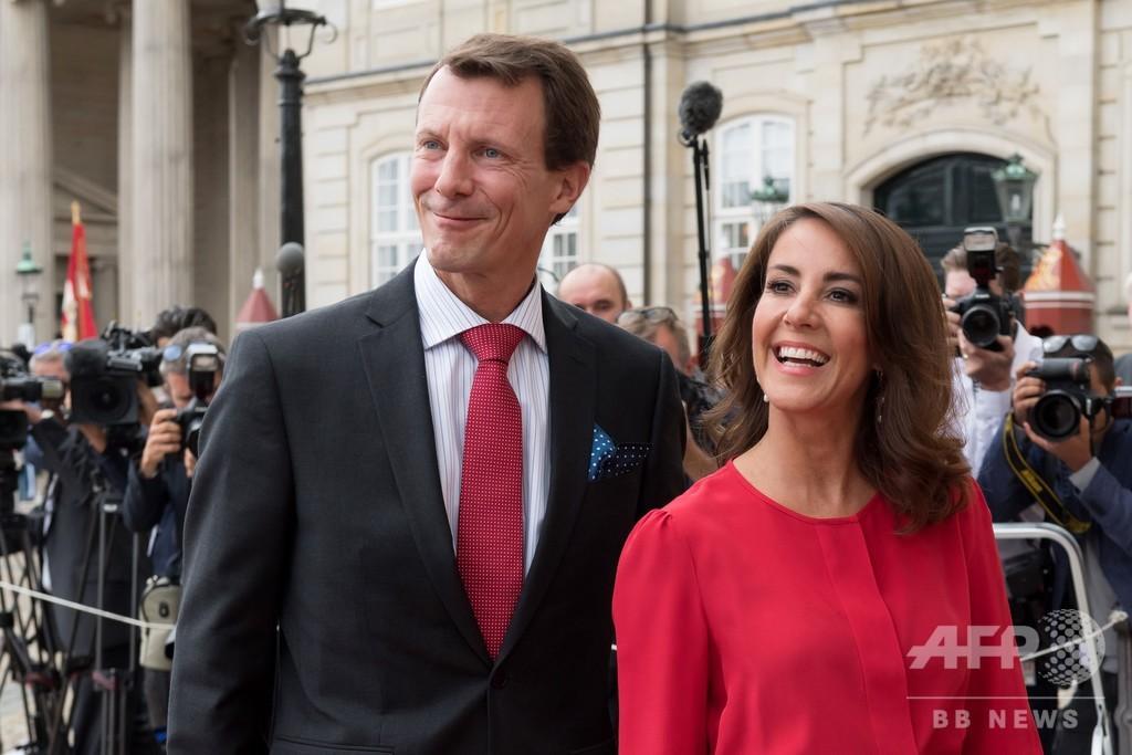 デンマークのヨアキム王子、脳血栓で手術 容体は安定