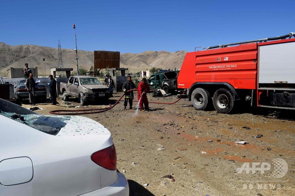 タリバン攻撃で48人死亡 アフガン選挙控え連続自爆