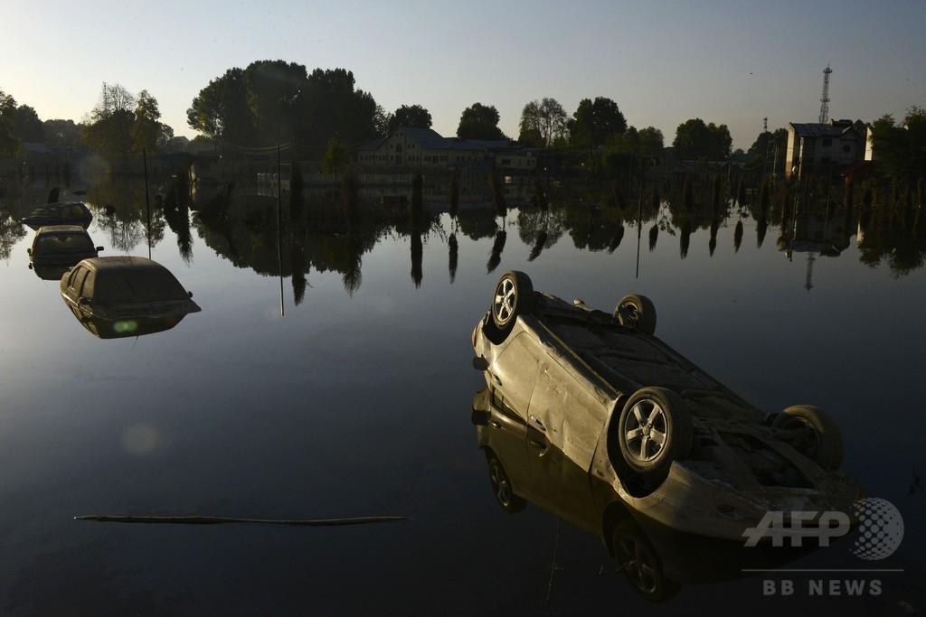 カシミール大洪水、特産じゅうたんに壊滅的打撃 損失5000億円超