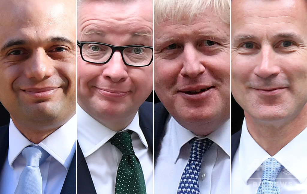 英与党党首選、ジャビド内相が脱落 ジョンソン氏はリード拡大