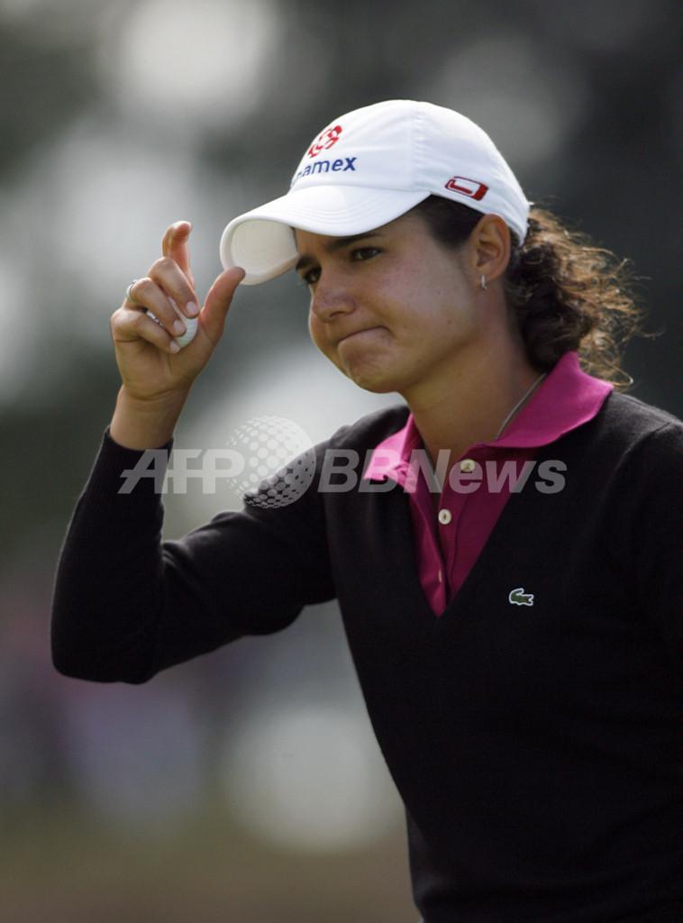 全英女子オープン2008・2日目 オチョア 通算7アンダー6位タイに浮上