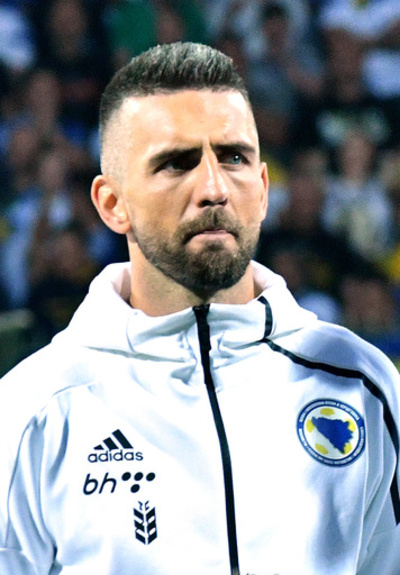 イビシェヴィッチが代表引退、10年にわたりボスニア代表をけん引