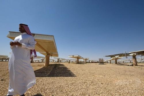 石油から太陽光へ、再生可能エネルギーの中枢に サウジアラビア