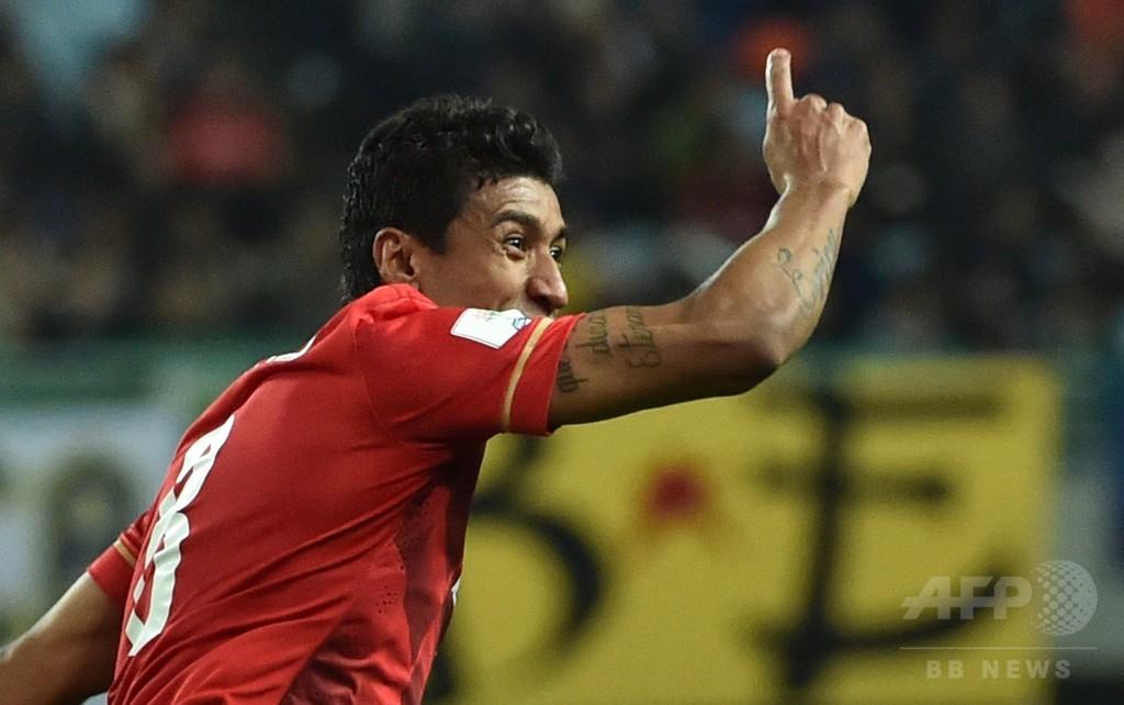 パウリーニョが終了間際に決勝点、広州恒大がクラブW杯準決勝へ