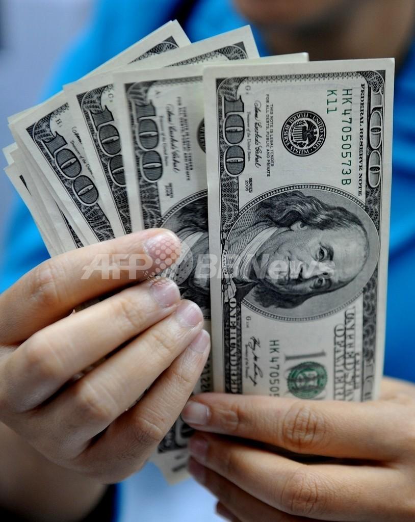 米ドル紙幣の90%からコカイン痕跡、2年前に比べ20%増