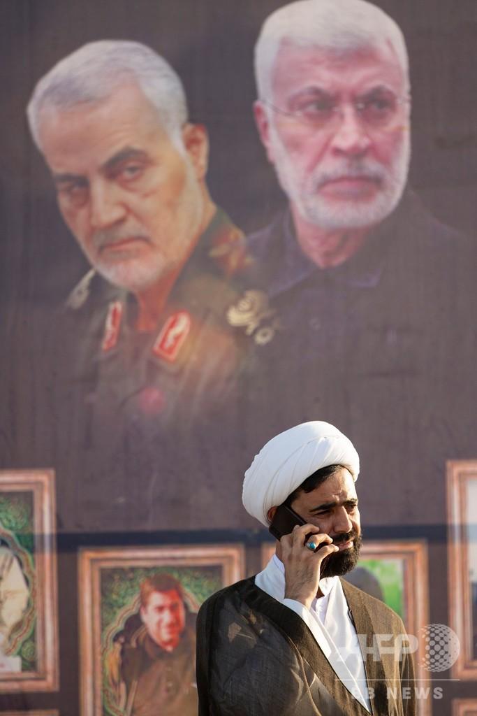 イラン、トランプ氏の国際手配要請 司令官殺害で