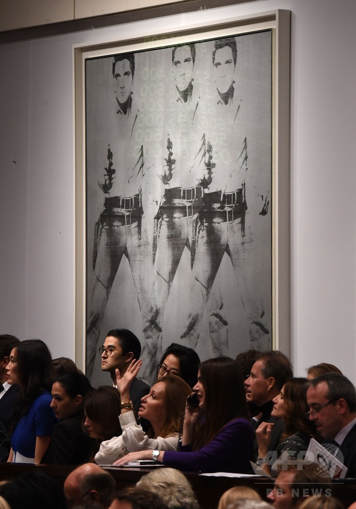 A・ウォーホル2作品、総額175億円で落札