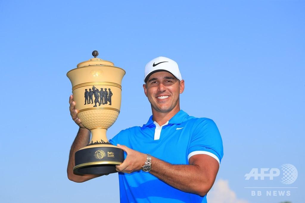 ケプカがセントジュード招待を制覇、世界ゴルフ選手権で初優勝