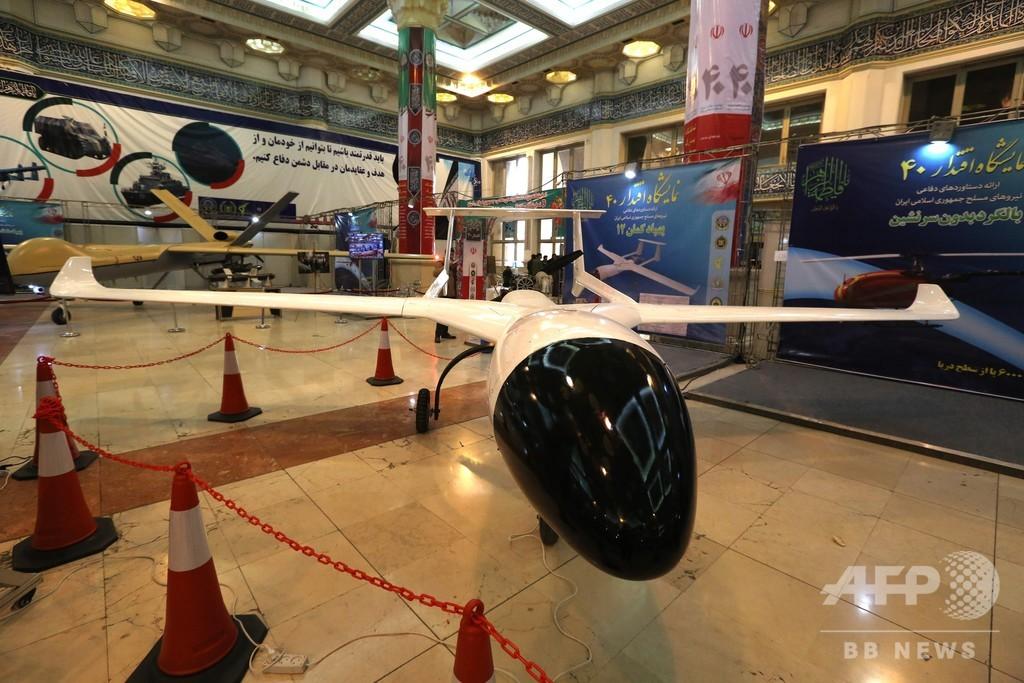 革命から40年祝うイラン、新型巡航ミサイル実験成功と発表